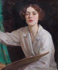 Harold Speed (British, 1872–1957) - Lady Diana Bridgeman, 1924