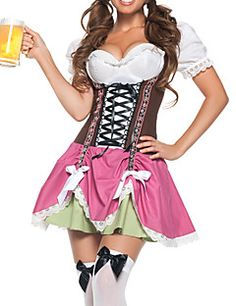 Sweet Beer Girl Women's Oktoberfest Costume (One Size) – USD $ 19.99