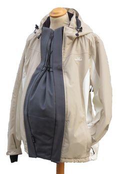 Winterkumja anthrazit | Kumja Jackenerweiterung - Verbreitert deine Jacke in der Schwangerschaft und beim Babytragen