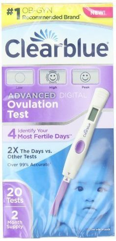 Clearblue Advanced Digital Ovulation Test 20 Count Gift Baby NewBorn Child >>> Click image for more details. (Note:Amazon affiliate link)