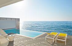 Outdoor Sofa, Outdoor Furniture, Outdoor Decor, Greek Islands, Island Life, Crete, Sun Lounger, Palace, Entrance