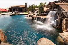 Fun Reasons To Own Luxury Swimming Pools – Pool Landscape Ideas Luxury Swimming Pools, Luxury Pools, Lagoon Pool, Pool Remodel, Pool Cabana, Spa Water, Mediterranean Design, Custom Pools, Beautiful Pools