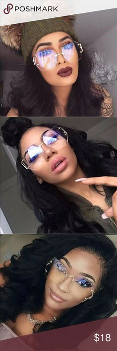 New✨ Clear/ Yellow Gradient Glasses/Sunglasses 😍✨ ✨Fashion Accessory  ✨ Alloy, Gold plated  ✨ New Trendy Style    🔸Brand New✨ 🔸PRICE IS FIRM- already listed at lowest price  🔸If you want to save please look into bundling  🔸In Stock 🔸No Trades NO HOLDS  🔸Will ship within 24- 48 hours Monday-Friday  🚫Please -NO- Offers on items priced $10 and under AND ON SALE ITEMS‼️  🚫Serious Inquiries Only❣️  🔹Bundle one or more items from my boutique to only pay one shipping fee✨ Accessories…
