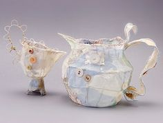 Award-winning mixed media artist Priscilla Jones to teach sculpture at the Do What You Love Retreat Sculpture Textile, Textile Art, Textiles, Encaustic Art, Tea Art, Mixed Media Artists, Wire Art, Fabric Art, Milk Jug