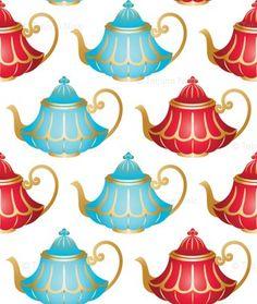 In Wonderland: Teapots