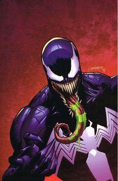Venom Comics, Marvel Venom, Marvel Villains, Marvel Art, Marvel Characters, Marvel Heroes, Spiderman Pictures, Spiderman Art, Spiderman Symbiote