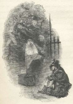 §§§ . Ghosts of Departed Usurers ~ John Leech 1843