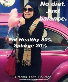 #muslimah #diet #balance #muslim woman #islam
