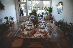 handcrafted in virginia - (via Kinfolk) Xmas Dinner, Dinner Table, Picnic Cafe, Friendship Party, French Table, Urban Loft, Dinner With Friends, Kinfolk, Slow Living