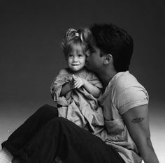 Michelle Tanner and Uncle Jessie <3