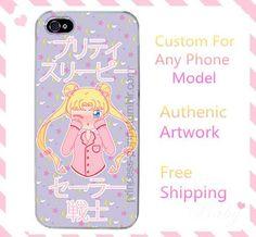 Sailor Moon Sleepy Usagi Custom Phone Case SP140909