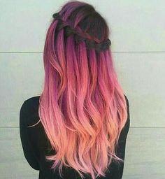 Pinterest: Tumblr Style #hair #tumblrstyle