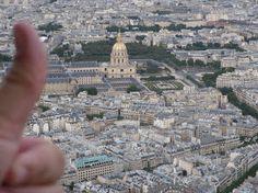 Vista de Paris do alto da Torre Eiffel.
