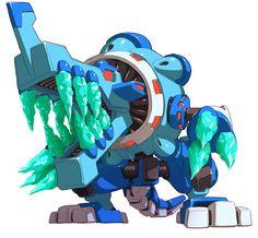 Bifrost - Characters & Art - Mega Man ZX Advent