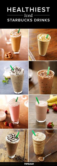 How to save hundreds of calories at Starbucks - choose these drinks: Starbucks Secret Menu, Healthiest Drink At Starbucks, Low Calorie Starbucks Drinks, Healthy Starbucks Food, Healthy Starbucks Options, Healthy Coffee Drinks, Starbucks Drinks Coffee, Healthiest Drinks, How To Order Starbucks