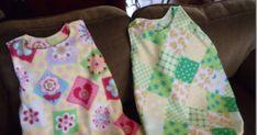 Comin' Home: How to Sew a Fleece Sleep Sack with Pattern