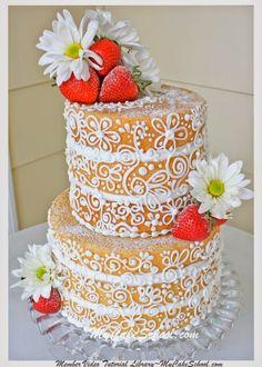 O naked cake, ou bolo pelado traduzido literalmente, chegou para ficar! Do noivado ao casamento, seja em uma festa que segue o estilo rústico, ou boho chic, sejas nas festas mais requintadas, o nak...