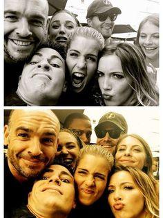 #Arrow cast #SDCC