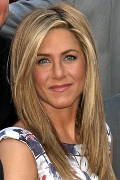 Celebrity Hairstyles - long blonde straight hair styles (20331)