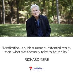 One common thing among most successful people is meditation. So, get ready to know about these celebrities who meditate daily without fail. Richard Gere, Successful People, Mirrored Sunglasses, Meditation, Celebrities, Celebs, Celebrity, Zen, Famous People