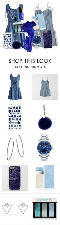 """Untitled #230"" by christiana-hickman on Polyvore featuring Chicwish, Abercrombie & Fitch, Ankit, ESCADA, Nina Gilin, Movado, Dolce&Gabbana, Eloquii, Bobbi Brown Cosmetics and Wet n Wild"
