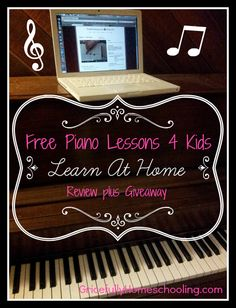 Gricefully Homeschooling reviews HoffmanAcademy.com online piano lesson materials.