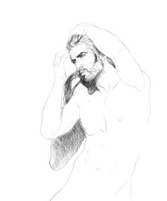 mens sketches on Behance