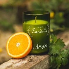 Orange and Coriander - Sharp and fresh blend of orange and coriander warmed spicy ginger enriched with Mediterranean herbs. Utterly gorgeous, uplifting and refreshing. Candle Art, Candle Magic, Thought Process, Soy Wax Candles, Coriander, Pomegranate, Candle Holders, Essential Oils, Fragrance