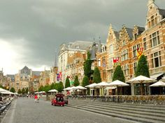 Leuven, Belgium - lived and studied here in college, so quaint and beautiful!