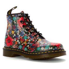 dr martens 101 multicolore liberty shoes martens. Black Bedroom Furniture Sets. Home Design Ideas