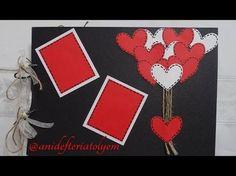 Sevgiliye Hediye / Anı defteri - Scrapbook 1 - YouTube