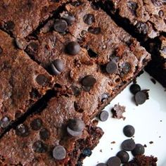 """Coconut Flour Chocolate Brownies 