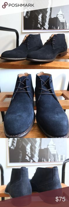 Brand New Aldo Chukka Boot #0193AO Brand New Aldo navy blue chukka genuine leather boot. The outside and inside of the boot is leather. #men #aldo #chelseaboot #boot #menstyle #streetwear #fashion #blue #chukka Aldo Shoes Chukka Boots