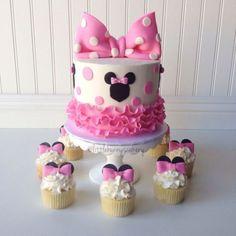 Minnie Mouse Cake #2