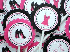 Bachelorette Cupcake Toppers