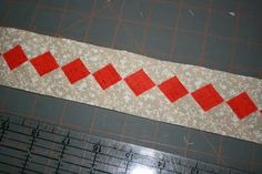 buzzing and bumbling shares a great tutorial for making an on point square border.