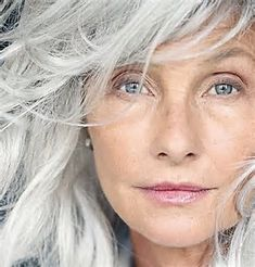 Image result for Natural Grey Haired Women