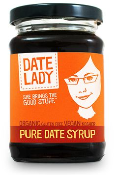 Date Syrup--so yummy in almond milk!
