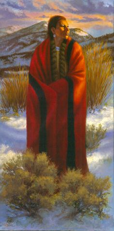 The Warmth of Simple Things-   NATIVE AMERICAN / WESTERN THEMED ART  Artist: Brent Flory  www.brentfloryfineart.com