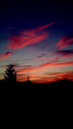 #evening #dark #beautiful #clouds #sunset
