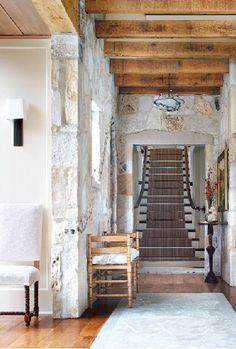 Lake Geneva hallway by Culligan Abraham Architecture and Glen Lusby.