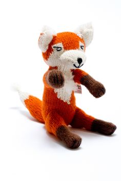 Our alpaca fox has proved very popular proving that toys do not have to be gender specific to sell