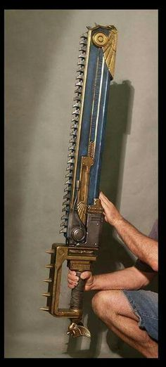 I am selling a VERY RARE Warhammer Space Marine Chainsword Replica that I won. Larp, Space Marine, Warhammer 40k, Steampunk Sword, Cosplay Weapons, Fantasy Weapons, Dieselpunk, Rwby, Fallout