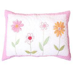 Flower garden quilted pillowcase. £29.99  http://www.worldstores.co.uk/p/Babyface_Flower_Garden_Quilted_Pillowcase.htm