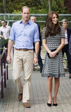 Kate Middleton has never been afraid to repeat a good outfit. The Duchess donned the chic Tory Burch dress she once made an instant best-seller for her public appearance in London to mark World Mental Health Day.    - MarieClaire.com