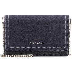 b3e75edd6c Givenchy Pandora Chain Denim Shoulder Bag ( 1