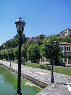 one of the most beautiful lakes of greece - Review of Kastoria Lake, Kastoria, Greece - TripAdvisor Macedonia Greece, Greek Islands, Lakes, Trip Advisor, Cities, Most Beautiful, Landscapes, Bucket, Romantic