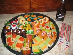 Candy Platter Sushi Love