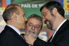 Planilhas da Odebrecht revelam propina para Mantega, Palocci e Lula