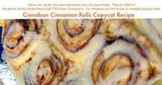 You have to try this delicious homemade Cinnabon Cinnamon Rolls Copycat Recipe. No one will ever know that this is a copycat recipe. Cinnabon Cinnamon Rolls, Cinnamon Roll Bread, Best Cinnamon Rolls, Black And Decker Bread Machine Recipe, Cafeteria Food, Cooking Recipes, Bread Recipes, Cake Recipes